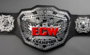 If the ECW Title had red lettering