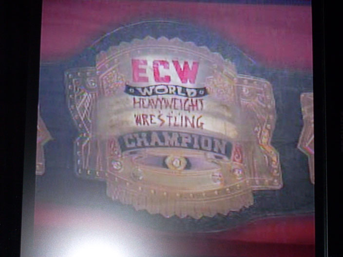 ECW Championship Banner from Night of Champions