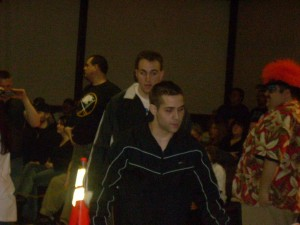 Thurston and Radski make their way to the ring