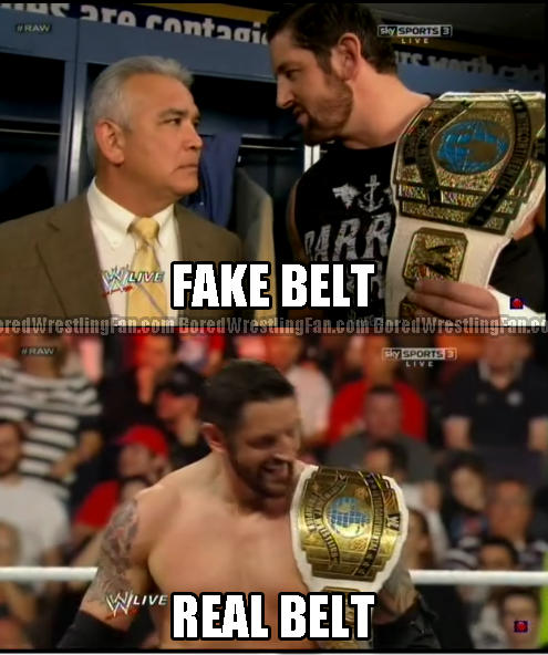 The belt mark strikes again!