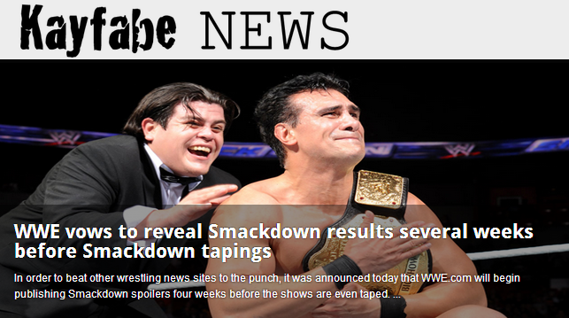 Another relevant post from Kayfabe News.