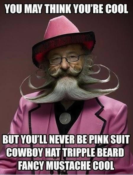 Speaking of beards...