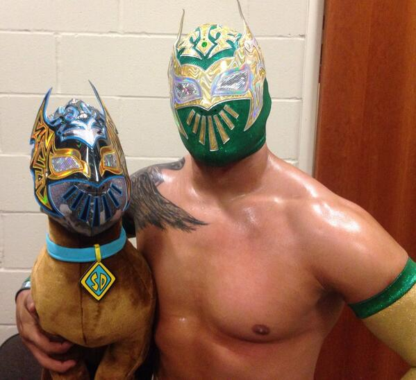 Scooby Doo was alive when Sin Cara got him.