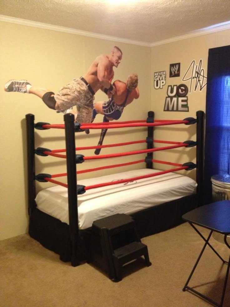 Speaking of Joe, I found ThinksoeJoe's bed online. Seriously though this is an awesome bed.