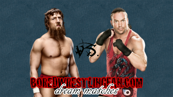 Today I'm going to present some dream matches. I'd pay good money for this.