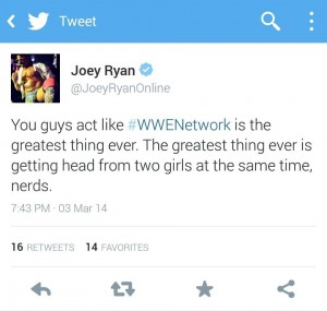 Joey Ryan puts things into perspective.