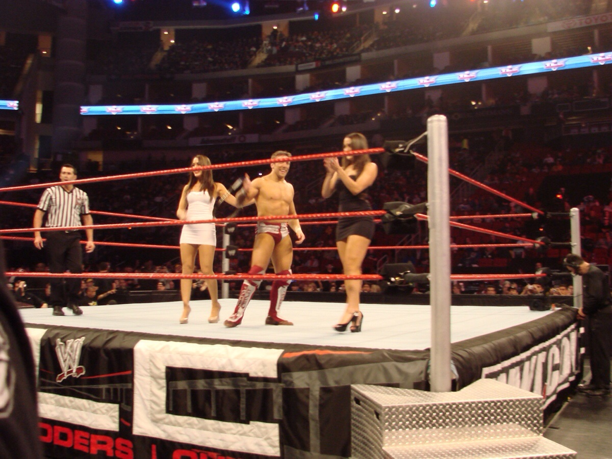 I actually forgot Bryan was paired with the Bellas in kayfabe.